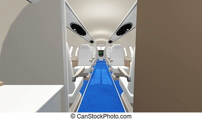 airplane  - inside of airplane