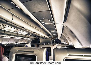 Airplane Interior, Italy