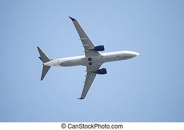 Airplane is Landing