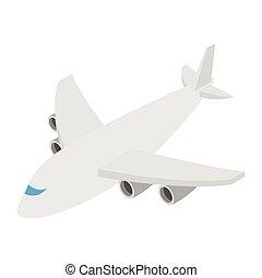 Airplane isometric 3d icon