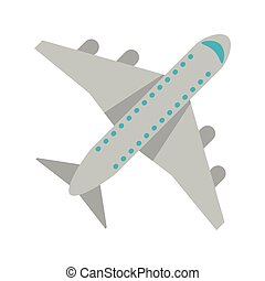 airplane jet symbol