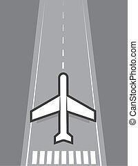 Airplane Landing or Taking Off