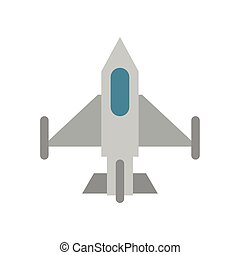 airplane military force isolated icon
