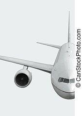 Airplane. - Passenger jet airplane.