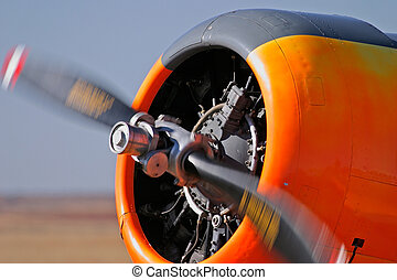 Airplane propeller - Propeller of an airplane