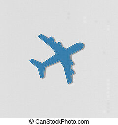 Airplane ravel with stitch style