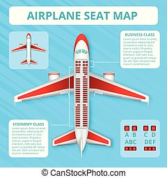 Airplane Seat Map