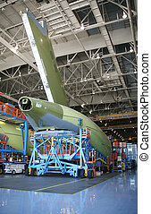 Airplane Shell During Manufacturing - Inside Aerospace...