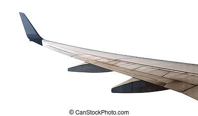 airplane skrzydło