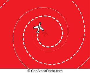 Airplane Spiral