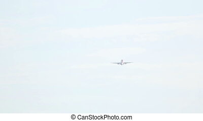AIrplane take-off and climb - AIrplane take-off from Phuket...