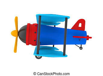 Airplane Toy Isolated