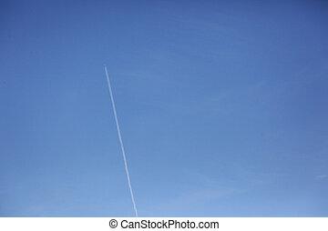 airplane trails