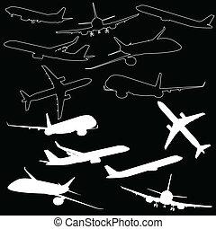airplane transport illustration
