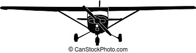 airplane - vector - illustration of airplane vector