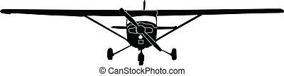 airplane, vektor, -