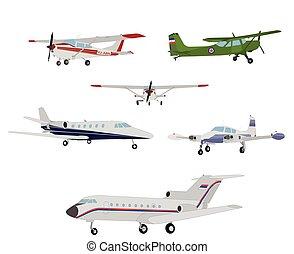 airplanes illustration