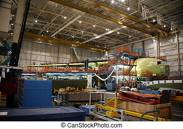Airplanes in Production - Inside Aerospace Manufacturing ...