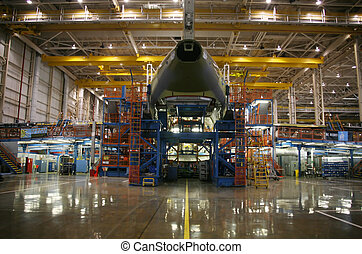 Airplanes in Production - Inside Aerospace Manufacturing...