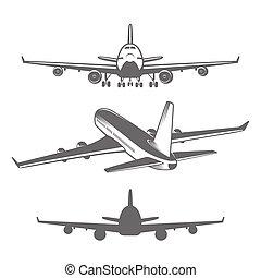 Airplanes set