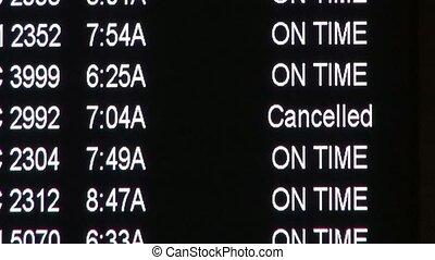 Airport Arrivals, Departures, Flights
