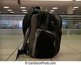 Airport Bag - Securi - Unattended baggage?