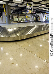 Airport Baggage claim empty