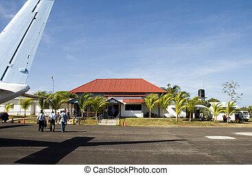 airport Corn Island, Nicaragua