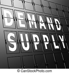 Airport display demand supply