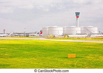 Airport fuel tank