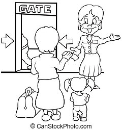 Airport Personnel Illustrations And Clipart 52