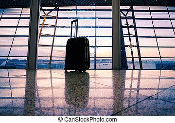 Airport in Beijing