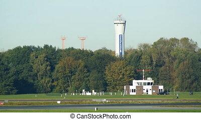 Airport in Hamburg