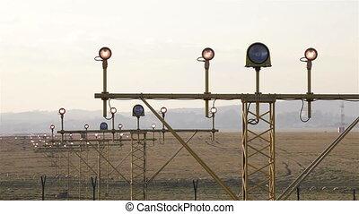 Airport lights - Airport navigation lights