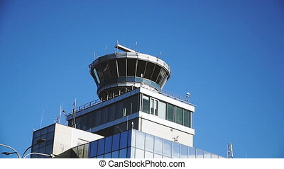 Airport. Observation tower