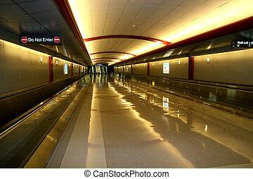 Airport Pedestrian Area - Pedestrain Transportation area of ...