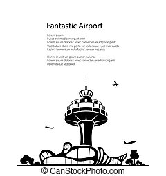 Airport Poster Brochure Design