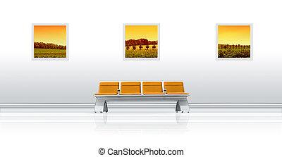 Airport Seat Panoramic