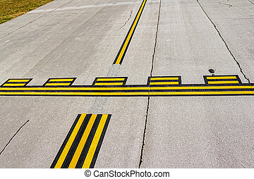 Airport stop lines