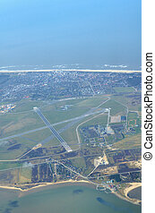 Airport Sylt from up high