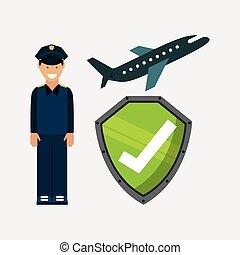 airport terminal design - airport terminal design, vector...