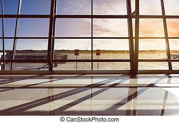 Airport Terminal - Image of airport terminal in Jakarta,...