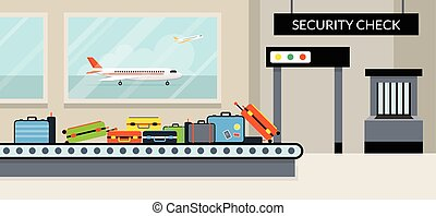 Airport Terminal Security Check