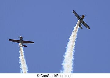 airshow, demonstração