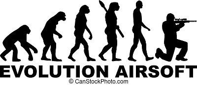 airsoft, evoluzione