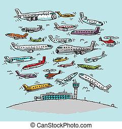 airspace, aglomerado