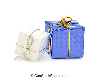 aislado, decoración, decoraciones, blanco, feriado, navidad