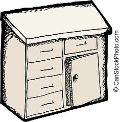 aislado, gabinete
