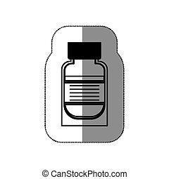 aislado, médico, medicina, diseño