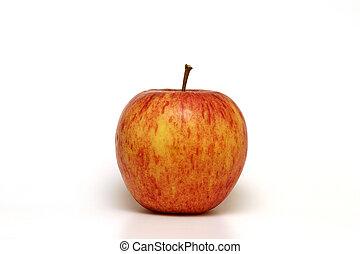 aislado, manzana